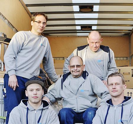 Das Team von Siegfried Stecker Möbeltransporte aus Schwülper